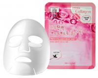 3W CLINIC НАБОР/Тканевая маска для лица КОЛЛАГЕН Fresh Collagen Mask Sheet