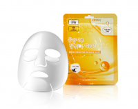3W CLINIC НАБОР/Тканевая маска для лица КОЭНЗИМ Fresh Coenzyme Q 10 Mask Sheet