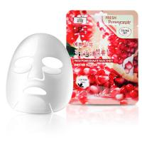 3W CLINIC Набор/Тканевая маска для лица ГРАНАТ Fresh Pomegranate Mask Sheet