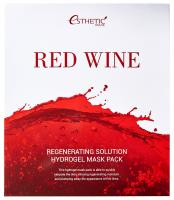 ESTHETIC HOUSE Гидрогелевая маска для лица RED WINE REGENERATING SOLUTION HYDROGEL MASK