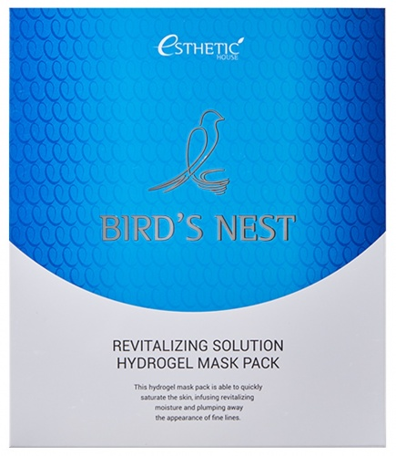 ESTHETIC HOUSE Гидрогелевая маска для лица BIRD'S NEST REVITALIZING HYDROGEL MASK